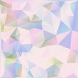 Kleurrijke driehoeks Abstracte achtergrond Royalty-vrije Stock Foto's
