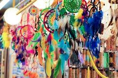 Kleurrijke droomvanger Stock Afbeeldingen
