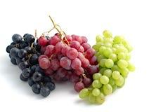 Kleurrijke druiven Royalty-vrije Stock Fotografie