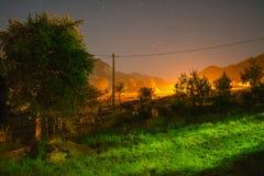 Kleurrijke duidelijke nacht Royalty-vrije Stock Foto's