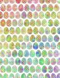 Kleurrijke Eieren Royalty-vrije Stock Afbeeldingen