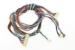 Kleurrijke elektrische draad Stock Fotografie