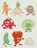 Kleurrijke en smakelijke groenten Royalty-vrije Stock Foto's