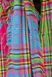 Kleurrijke etnic sjaals Royalty-vrije Stock Fotografie