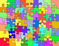 Kleurrijke figuurzaag stock illustratie