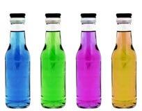 Kleurrijke flessen Royalty-vrije Stock Fotografie
