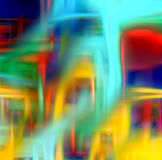 Kleurrijke fonkelende lichtenachtergrond royalty-vrije stock afbeeldingen