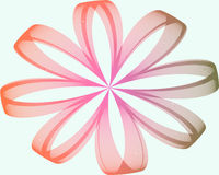 Kleurrijke Fractal Daisy stock illustratie