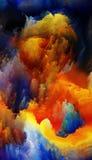 Kleurrijke Fractal Dromen Stock Foto's