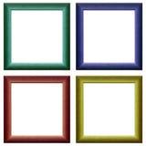 Kleurrijke frames Stock Fotografie