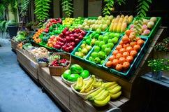 Kleurrijke fruit en groente Royalty-vrije Stock Foto's