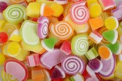 Kleurrijke fruitgelei Royalty-vrije Stock Foto's