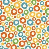 Kleurrijke funky bellenachtergrond Stock Afbeelding