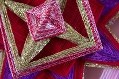 Kleurrijke garens Stock Afbeelding