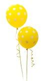Kleurrijke geïsoleerdea ballons Stock Foto