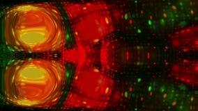 Kleurrijke geanimeerde videolengte als achtergrond stock video