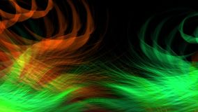 Kleurrijke geanimeerde videolengte als achtergrond stock footage