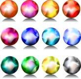 Kleurrijke gebieden royalty-vrije illustratie