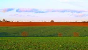 Kleurrijke gebieden in daling Royalty-vrije Stock Foto