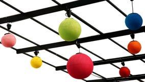 Kleurrijke gebiedlampen. Royalty-vrije Stock Afbeeldingen