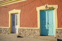 Kleurrijke Gebouwen Stock Foto's