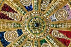 Kleurrijke geheimzinnigheid abstracte achtergrond royalty-vrije stock foto