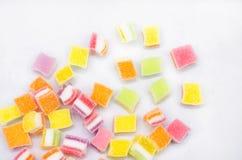 Kleurrijke Gelei 1 Royalty-vrije Stock Foto