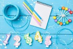 Kleurrijke Gelukkige Verjaardagsachtergrond Stock Fotografie