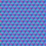 Kleurrijke geometrische abstracte achtergrond De naadloze achtergrond van de patroontextuur Stock Foto's
