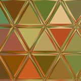 Kleurrijke geometrische achtergrond Abstract Driehoekig Patroon in bleke kleuren vector illustratie