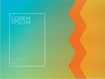 Kleurrijke geometrische achtergrond Abstract textuurmalplaatje voor royalty-vrije illustratie
