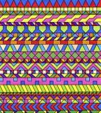 Kleurrijke geometrische patronen Royalty-vrije Stock Foto's