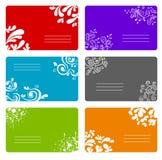 Kleurrijke geplaatste banners Royalty-vrije Stock Foto's