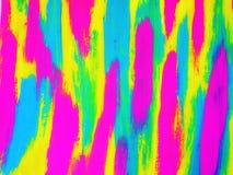 Kleurrijke geschilderde samenvatting Royalty-vrije Stock Foto's