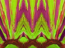 Kleurrijke geschilderde samenvatting Stock Afbeeldingen