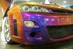 Kleurrijke gestemde auto royalty-vrije stock fotografie