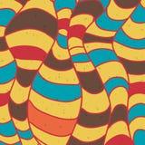 Kleurrijke gestreepte achtergrond Royalty-vrije Stock Afbeeldingen
