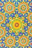 Kleurrijke gevormde keramische tegels Royalty-vrije Stock Foto