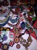 Kleurrijke geweven halsband Royalty-vrije Stock Afbeelding
