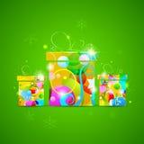 Kleurrijke Gift Stock Fotografie