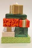 Kleurrijke giften Royalty-vrije Stock Foto