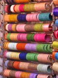 Kleurrijke glanzende armbanden Royalty-vrije Stock Afbeelding