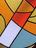Kleurrijke glasdiversiteit, stained-glass achtergrond, Royalty-vrije Stock Afbeeldingen