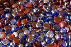 Kleurrijke glasparels Royalty-vrije Stock Foto
