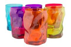 Kleurrijke Glazen Royalty-vrije Stock Foto