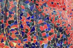 Kleurrijke glazen abstracte achtergrond Royalty-vrije Stock Afbeeldingen