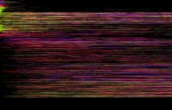 Kleurrijke glitch achtergrond Stock Foto's