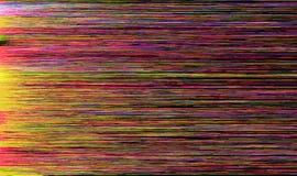 Kleurrijke glitch kunstachtergrond Stock Afbeelding