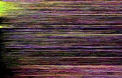 Kleurrijke glitch kunstachtergrond Stock Foto