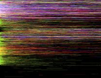 Kleurrijke glitch kunstachtergrond Stock Foto's